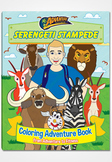 Serengeti Stampede Coloring Adventure Book