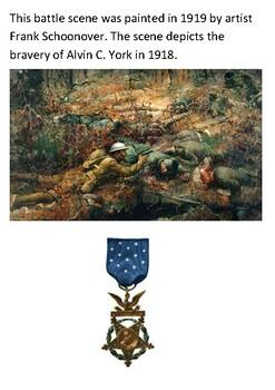 Sergeant Alvin York Word Search