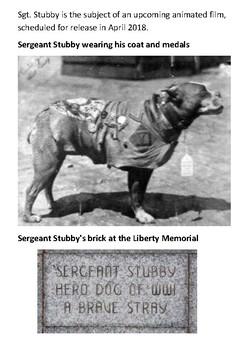 Sergeant Stubby Handout