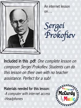 Sergei Prokofiev Lesson 1 / Independent study music internet
