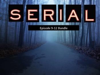 Serial Podcast Episode 9-12 Bundle