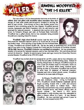 Serial Killer Profile #3 : Randall Woodfield (psychology / forensics)