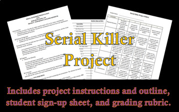 Serial Killer Student Projects