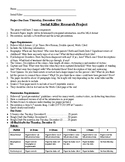 Serial Killer Research Project