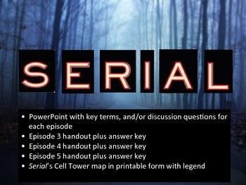 Serial Podcast Bundle: Episodes 3-5
