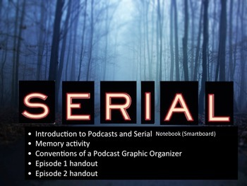 Serial Podcast Bundle: Introduction, Episodes 1 and 2