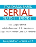 Unit 1 Sampler: Serial Podcast Lesson Plans & Printable Worksheets S1, Episode 1
