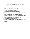 Serial Podcast Questions