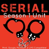 Serial Podcast Season One Unit Plan, Activities, and Literary Nonfiction Study