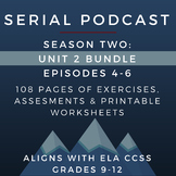 Serial Podcast Season 2: Unit 2 Bundle, Episodes 4-6 | Les