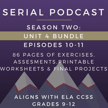 Serial Podcast Season 2: Unit 4 Bundle, Eps. 10-11 | Lesso