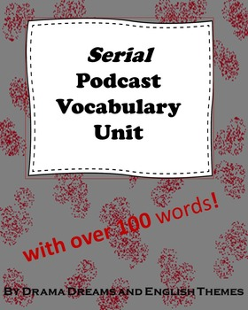 Serial Podcast Vocabulary List