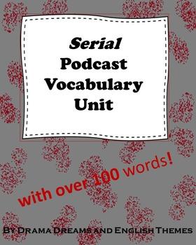 Serial Podcast Vocabulary List