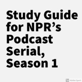Serial, Season 1 Podcast | Study Guide | NPR | Sarah Koenig