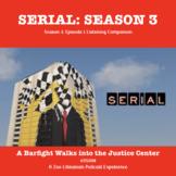 Serial Season 3, Listening Skills, Podcast Activity, DISTA