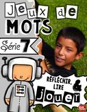 Centres litteratie / French Question words / Différent des cartes à tâches