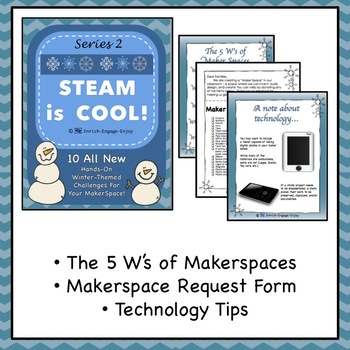 Series 2: EVEN MORE STEAM is COOL! 10 winter STEM challenges for your makerspace