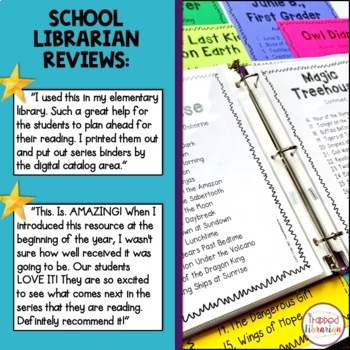 Book Series Binder