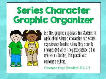Series Character Graphic Organizer