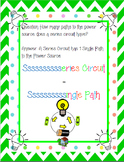Series Circuit Cheat Sheet *Freebie*