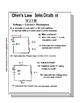 Series Circuits 2 Worksheet