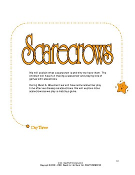 Series I October: Pumpkins & Scarecrows, Fall Harvest, Red Hot, Fire Safety, Bre