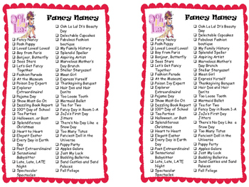 Series Reading Check List: Fancy Nancy