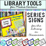Series Signs and Labels for the School or Classroom Library