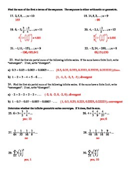 Series, Summation Notation