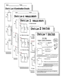 Circuits Bundle PDF: Series and Parallel Worksheets - 10 a