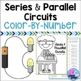 Series and Parallel Circuits: Color-By-Number