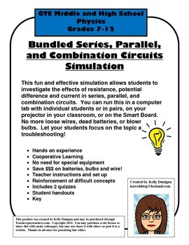 Series and Parallel Circuits Simulation - Bundled