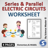 Series and Parallel Electric Circuits Worksheet One in many ways