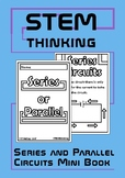 Series and Parallel Electrical Circuits Physics Mini Foldable Book