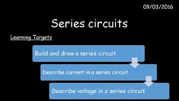 Series circuits + free bonus literacy in Science bundle