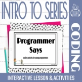 Series in Coding Lesson