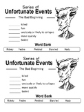 Series of Unfortunate Events (Netflix) Vocabulary Activity