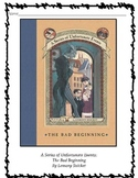 Series of Unfortunate Events Novel Study