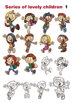 Series of lovely children 1