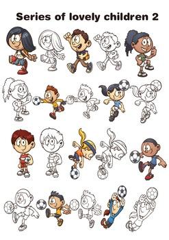 Series of lovely children 2