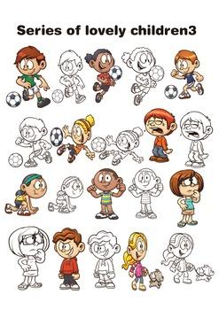 Series of lovely children 3