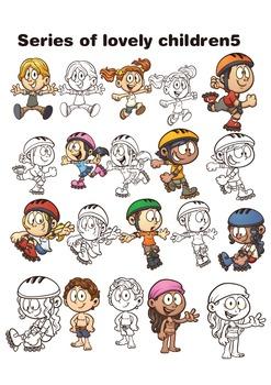Series of lovely children 5