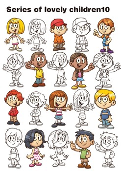 Series of lovely children10  10 PGN