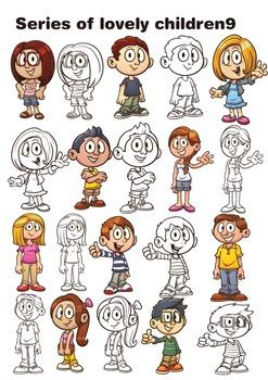 Series of lovely children9
