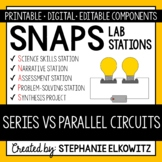 Series vs. Parallel Circuits Lab Stations Activity
