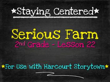 Serious Farm  2nd Grade Harcourt Storytown Lesson 22