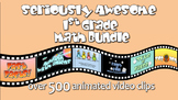Seriously Awesome 1st Grade Math Bundle