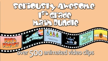 Seriously Awesome 1st Grade Math Bundle