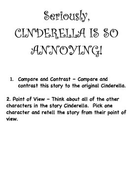 Seriously Cinderella is so Annoying