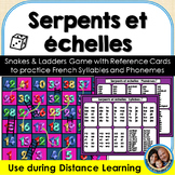 Serpents et échelles - Snakes & Ladders in French